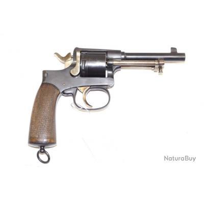 Revolver Rast & Gasser 1898 finition bronzage noir calibre 8 mm Gasser régimenté
