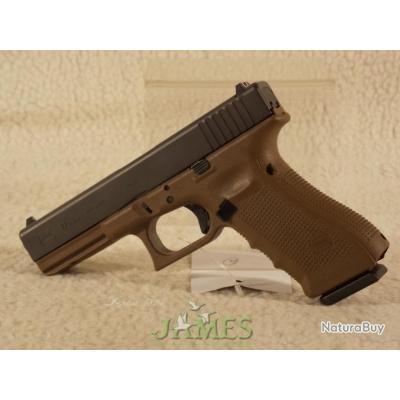 Pistolet GLOCK 17 Gen4 9x19 Bicolore B 9x19