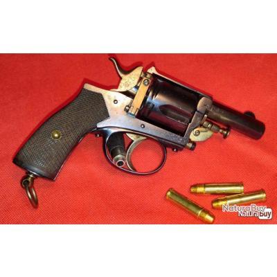"""Véritable Revolver """"l'Agent"""" 8mm92 - Saint-Etienne"""