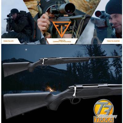 "TIKKA T3X LITE ""PROMO BLACK DAY$"" Cal 30-06 Sprg Canon 51cm Fileté M14X1"
