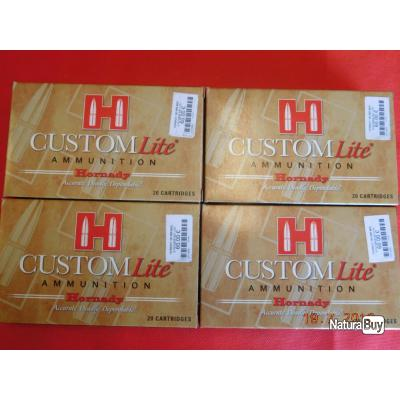 Balles calibre 300 WM Hornady  custom SST LITE, lot de 4 boites,