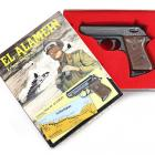 Coffret collector pistolet d'alarme Perfecta El Alamein 8mm K vintage
