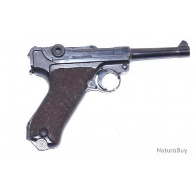 Pistolet Luger P08 fabrication DWM en 1916 calibre 9mm para 9x19