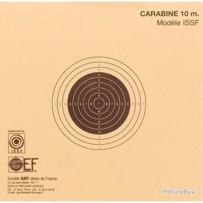 CIBLES CARABINE 10M ISSF X200