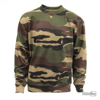 Sweat col rond camo CE Taille 5