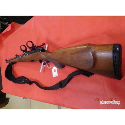 Carabine Steyr Mannlicher L Stutzen 5.6x57 , avec 2 colliers diamétre 30mm