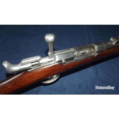 Beau fusil Fusil chassepot 1866 1er type monogrammé fabrication civile France XiXe