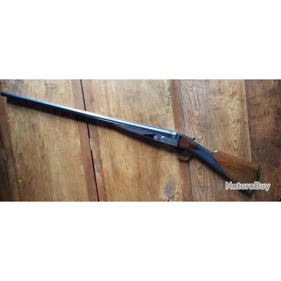 Exceptionnel fusil juxtaposé calibre 8 canons Jean BREUIL*** DERNIERE BAISSE DE PRIX***