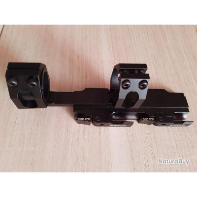 Montage rapide pour lunette sur rail picatinny /weaver 21mm QD AUTOLOCK