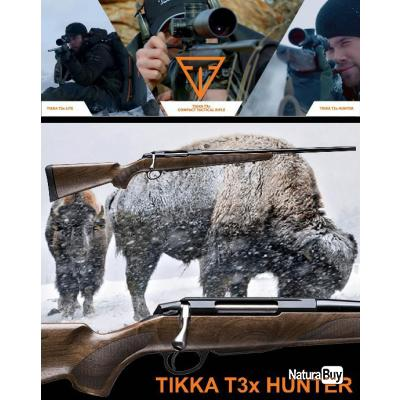 "TIKKA T3X HUNTER ""PROMO BLACK DAY$"" Calibre 30.06 Sprg Canon 57cm"