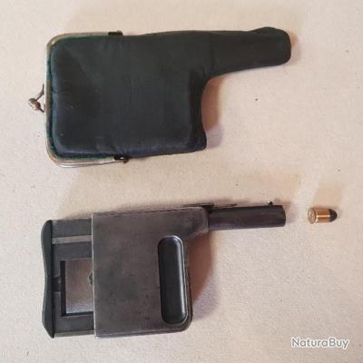 Pistolet Gaulois cal 8mm