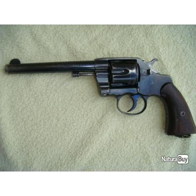 REVOLVER COLT CALIBRE 38 LONG COLT 1901 US XIXè 6 pouces