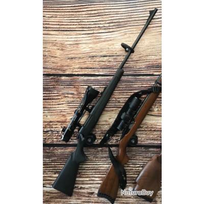 Carabine + lunette remington 700 calibre 7x64