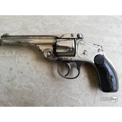 Revolver smith et wesson hammerless cal 38 s&w model 4