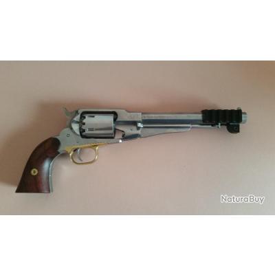 """Adaptateur double picatinny remington 1858 8"""" poudre noire"""