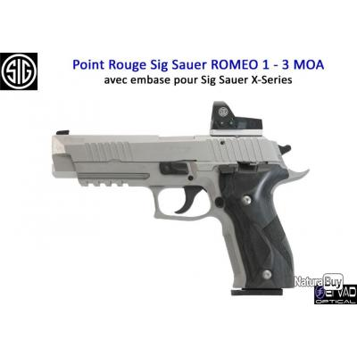 Point Rouge Sig Sauer Romeo 1 pour Sig Sauer X-Series - 3 MOA