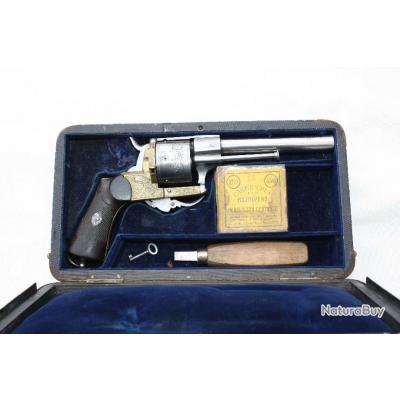 Coffret revolver Saint-Etienne, Cal 11 mm / 73