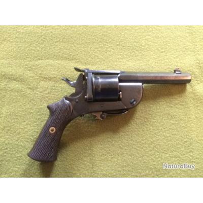 revolver levaux  a canon et barillet basculant calibre 320