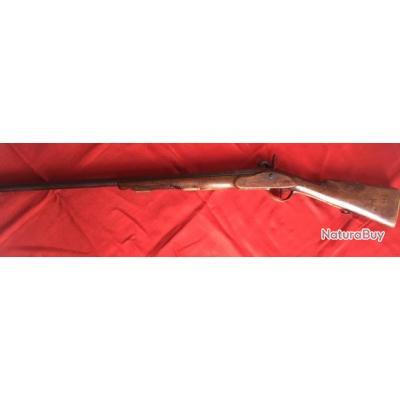 Fusil à piston de collection fin XIIIVième/ début XIXième