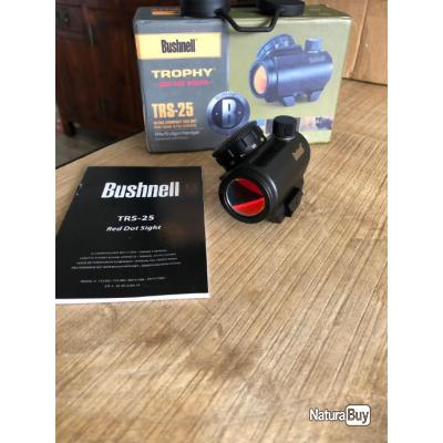 point rouge tubulaire bushnell trs-25 (trs25)