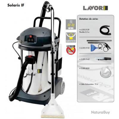 Lavor Pro - Aspirateur injecteur-extracteur 2400W max. 108l/s - SOLARIS IF