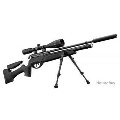 Pack carabine Gamo HPA PCP 5.5 + 6-24x50 + silencieux + bipied , NEW !
