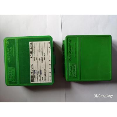 2 Boites Cartouches Case gard ( 357 et 9mm)