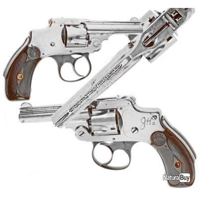 revolver de collection Smith et Wesson safety hammerless .32 first model