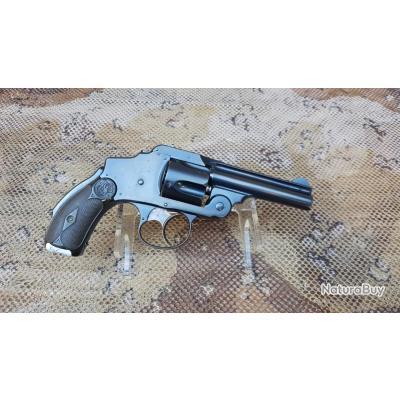 Revolver Smith et Wesson safety hammerless 38