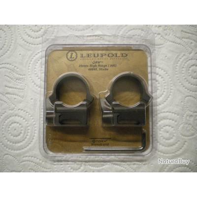 grand assortiment magasin emballage élégant et robuste Colliers Leupold QRW en 30 - Colliers pour montage amovible ...