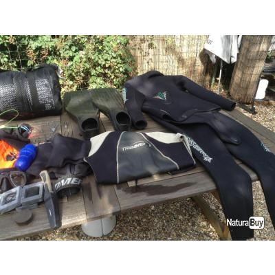 Materiel chasse sous marine complet