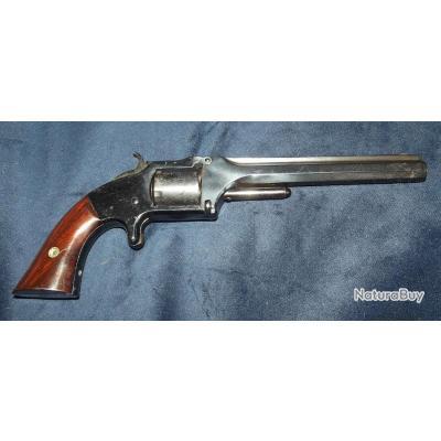 Revolver Smith & wesson 2eme modéle old army calibre 32 rf