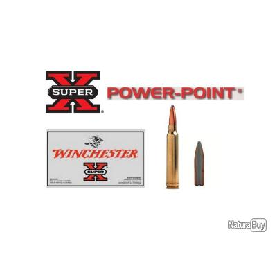PROMO GRANDE CHASSE!! Boite de 20 Balles Winchester Super X Power Point Calibre 30-06