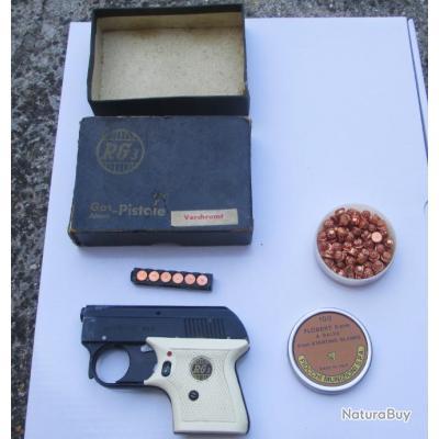 Pistolet Röhm RG 3  RG3 AVEC BOITE ET MUNITION A BLANC