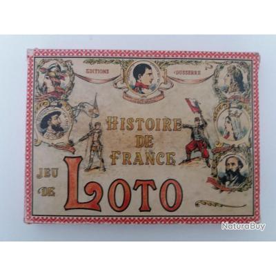Jeu Ancede Loto Ancien Histoire De France