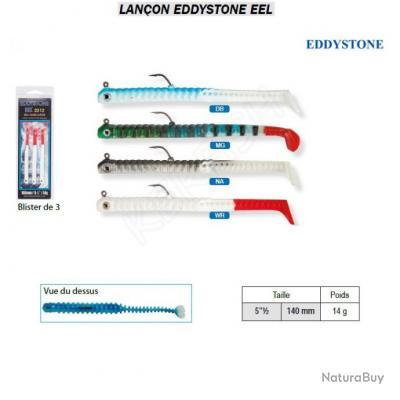 LANÇON EEL EDDYSTONE Blanc / Rouge
