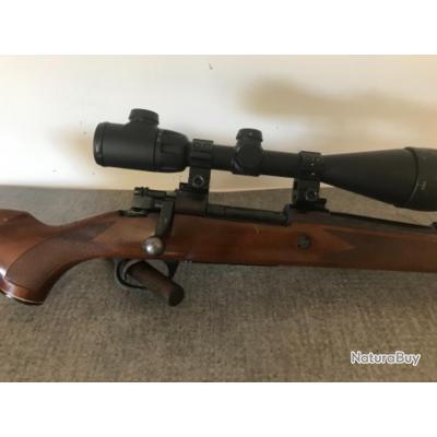Carabine à verrou calibre 243 win MIDLAND GUN + lunette center point 6-20x56