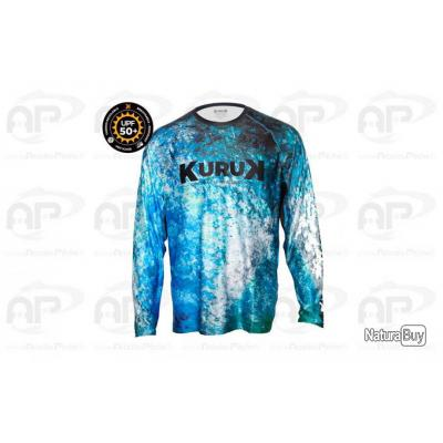 T SHIRT EXPEDITION 50+ KURUK Blue Black
