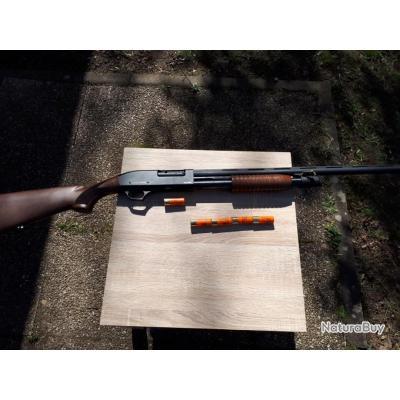 Fusil à pompe MANUCHASSE RAPID 4 + 1 coups