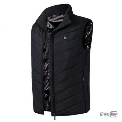 Gilet chauffant Elite Heat PwB - Destockage - 3XL / Noir