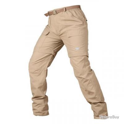 Pantalon modulable tactique Mavril - 8 couleurs - Kaki / 52