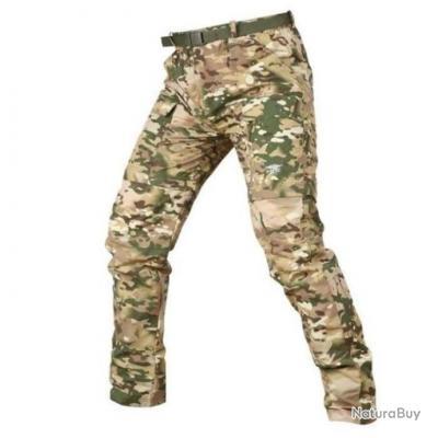 Pantalon modulable tactique Mavril Camo Cp