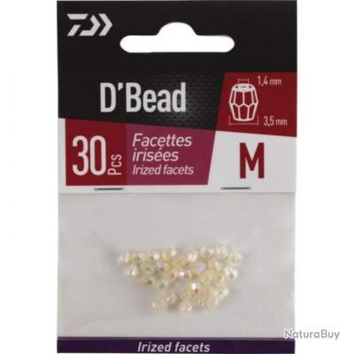 Perles à facettes Daiwa D'Bead - M / Beige