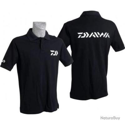 Polo Daiwa 4 Couleurs Noir