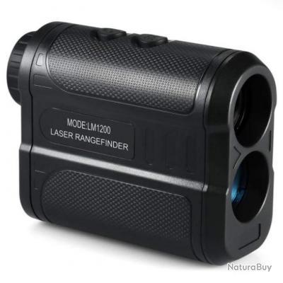 Télémètre laser longue distance KMoon 1500 - Noir / 1200m