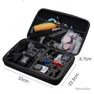 Boite de rangement pour caméra et accessoires FG - Multiples modèles - L