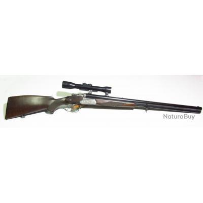 fusil drilling occasion cal 12/70 merkel 200E très bon état
