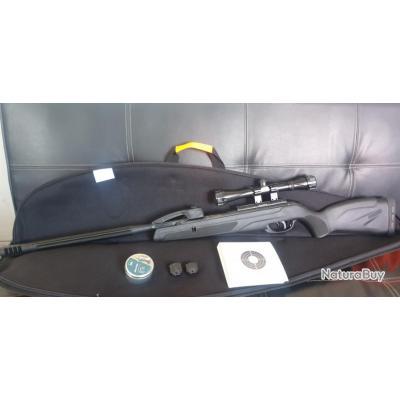 Pack Carabine à plomb Gamo Replay 10 Maxxim 4.5 19.9j + plombs+cibles+fourreau