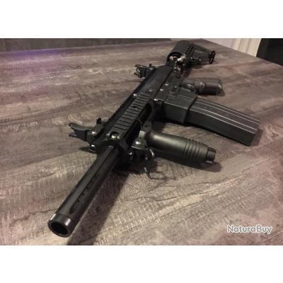 Lanceur bille noire calibre 68 full équipée sans prix de réserve !!!