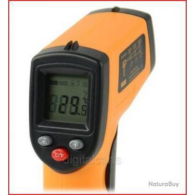 Thermomètre infra rouge à visée laser